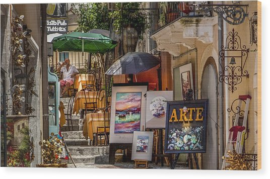 Arte For Sale Gozo Wood Print