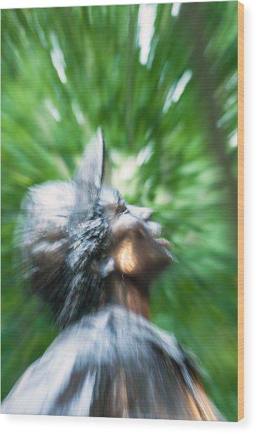 Artistic Nurse -- Vietnam War Memorial Wood Print