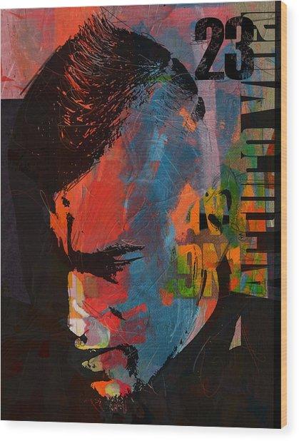 Arturo Vidal Wood Print