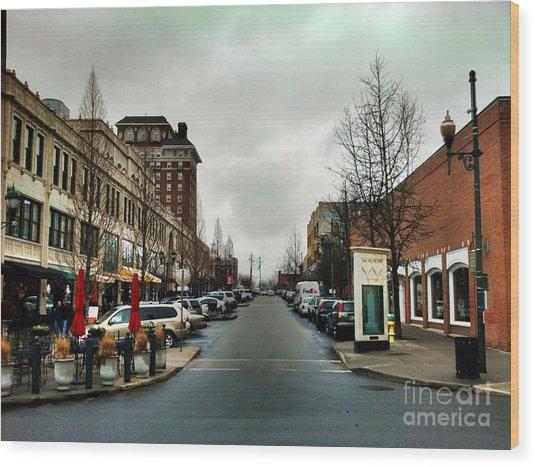 Asheville North Carolina Wood Print