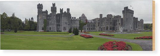 Ashford Castle Wood Print