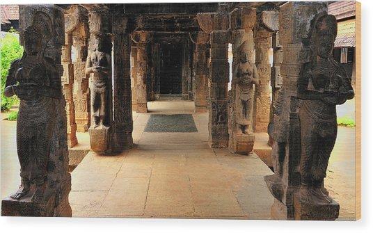 Asia, India, Tamil Nadu, Padmanabhapuram Wood Print