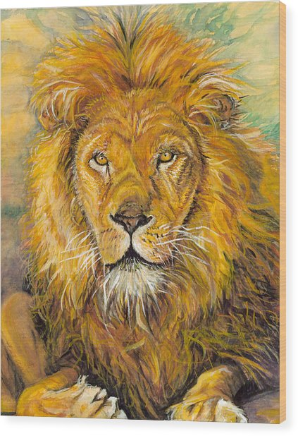 Aslan - Lion Of The Tribe Of Judah by Lisa Wright