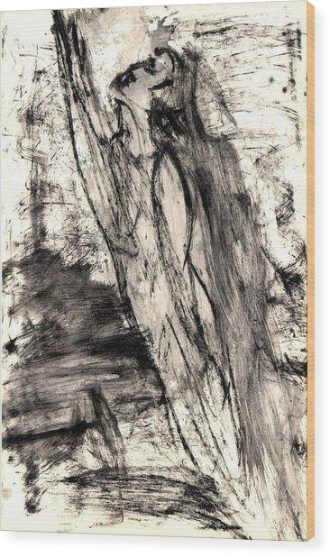 Aspiration Wood Print by Yuri Lushnichenko