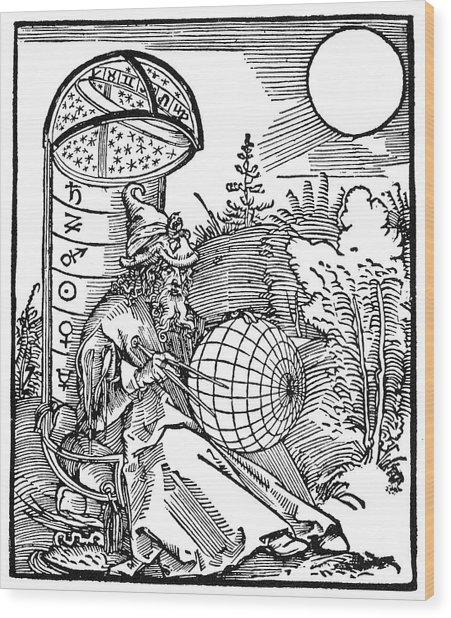 Astronomer, 1504 Wood Print