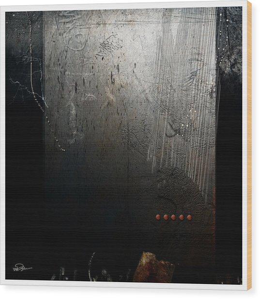 At The Altar Wood Print by James VerDoorn
