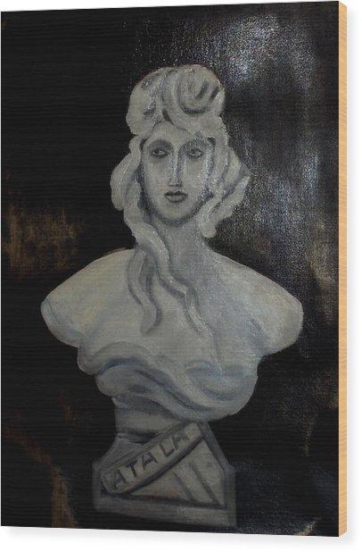 Atala Wood Print