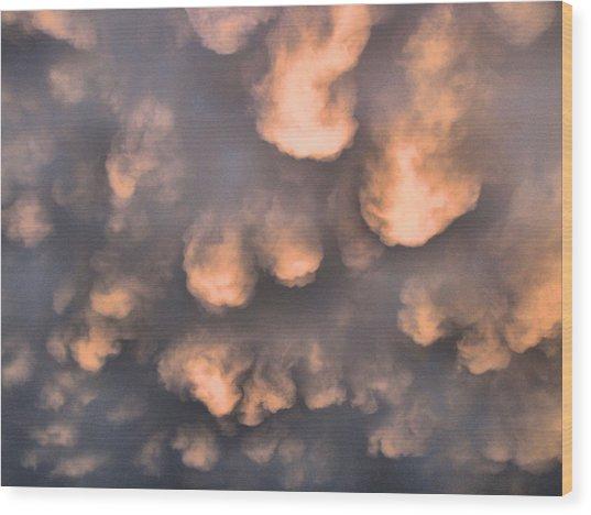Atmospherea Wood Print