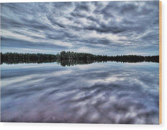 Atsion Lake II Wood Print