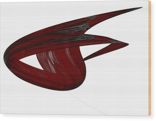 Attractor No. 31 Wood Print by Mark Eggleston