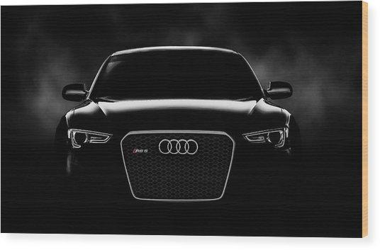 Audi Rs5 Wood Print