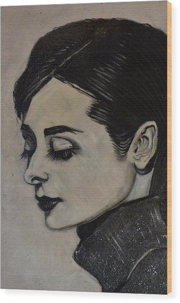 Audrey Wood Print