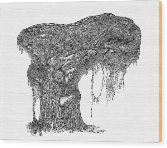 August '12 Wood Print
