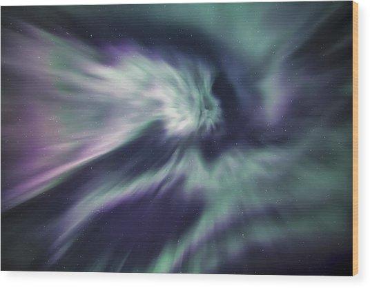 Aurora Sky Wood Print