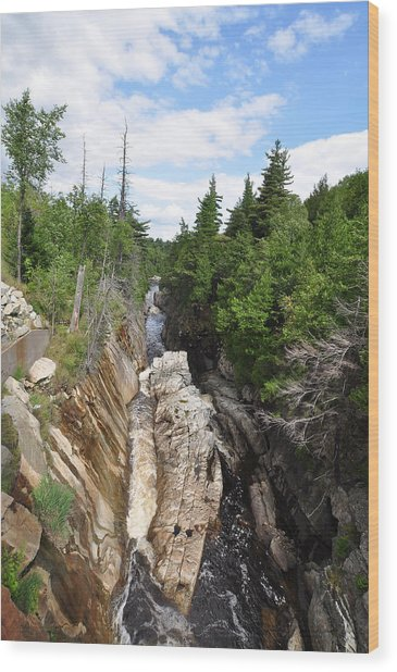 Ausable River  Wood Print