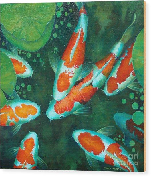 c695b7910d13 Auspicious Koi Pond 9 by Edoen Kang
