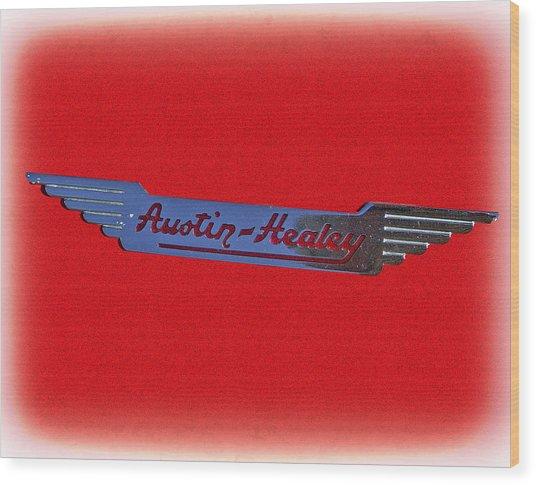 Austin-healey Wood Print