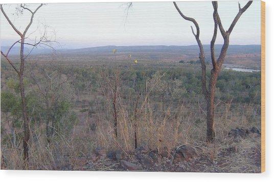 Australian Outback Wood Print