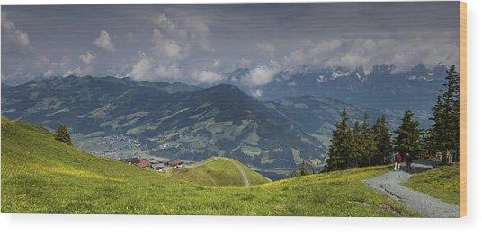 Austrian Tyrol Wood Print