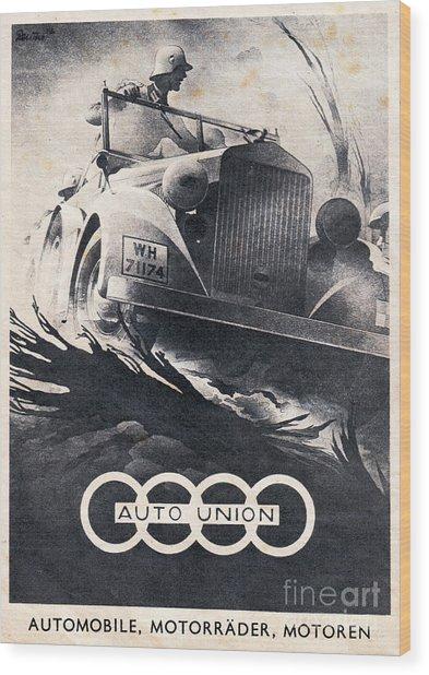 Auto Union Wood Print