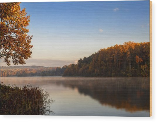Autumn At Chambers Lake Wood Print