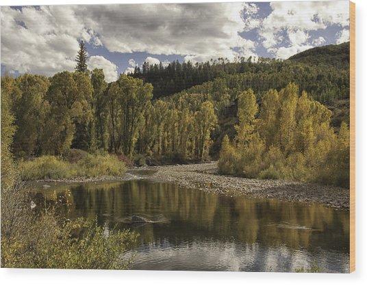 Autumn Colors At Christina Wood Print