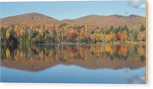 Autumn In Killington Vermont Wood Print by Bruce Neumann