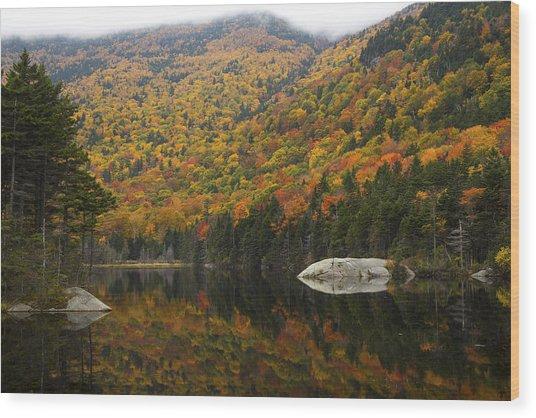 Autumn In Kinsman Notch Wood Print