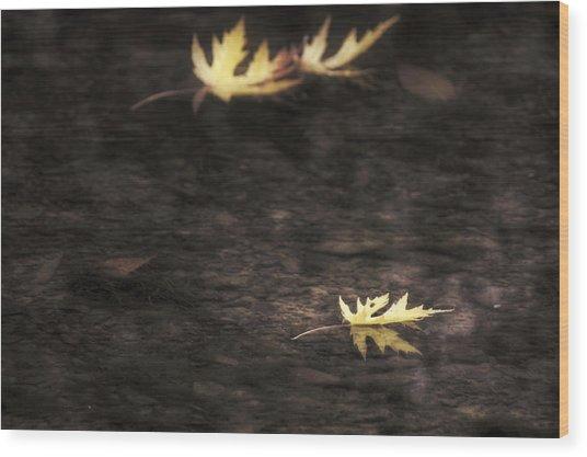 Autumn Mood - Fall - Leaves Wood Print