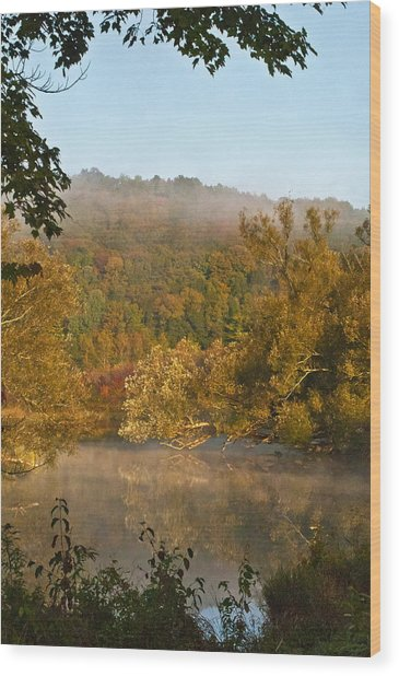 Autumn Morning In Coventry Wood Print