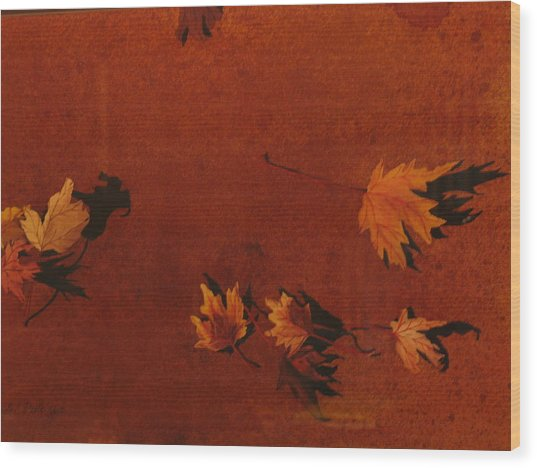 Autumn Offering Wood Print by Carole Poole