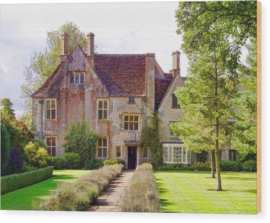 Avebury Manor -1 Wood Print