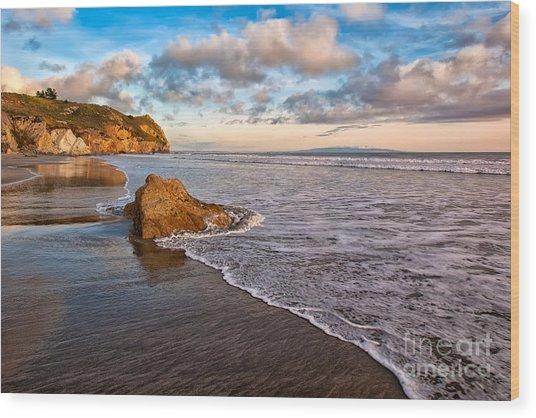 Avila Beach Wood Print