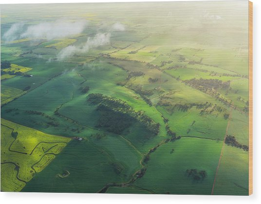 Avon Valley Wood Print by Neal Pritchard Photography