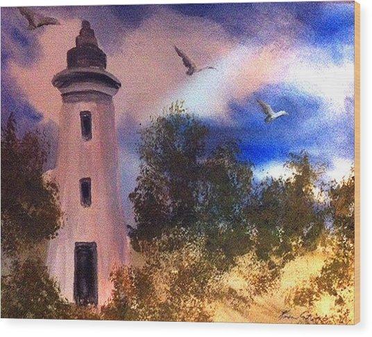 Awake At Dawn Wood Print by Karen  Condron