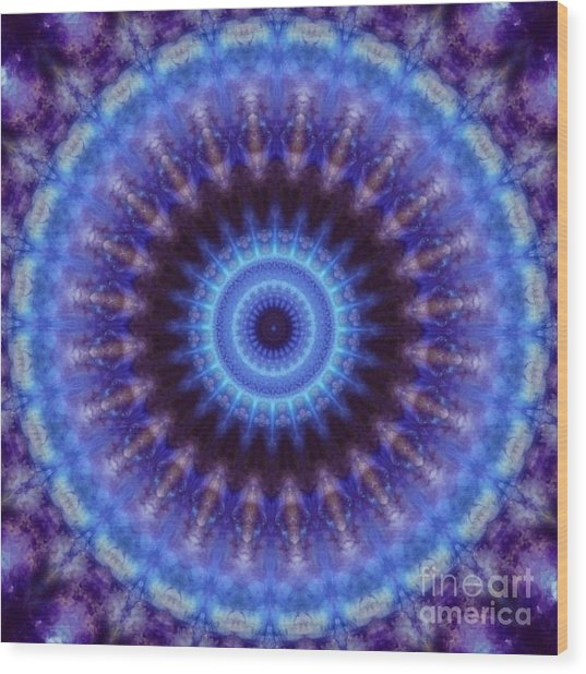 Awakened Mind Wood Print