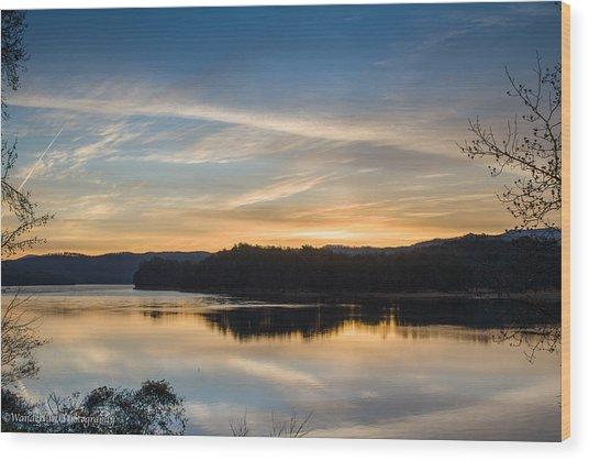 Awakening Wood Print by Paul Herrmann