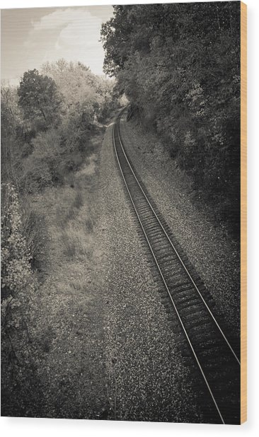 Away From Here Wood Print by Off The Beaten Path Photography - Andrew Alexander