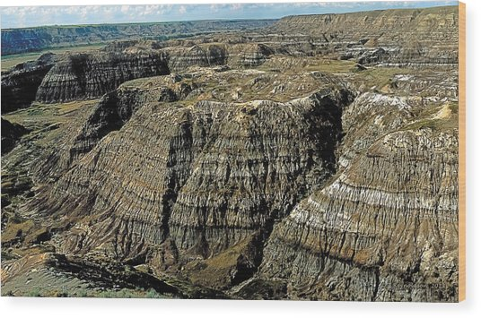Badlands Wood Print