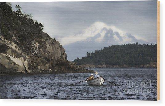 Baker Boat Wood Print