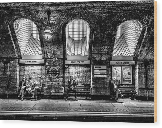 Baker Street Wood Print