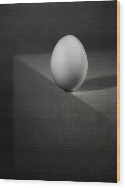 Balance Wood Print by Louis-philippe Provost