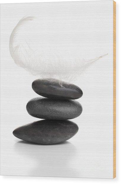 Balance Wood Print by Shawn Hempel