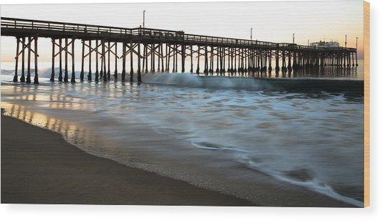 Balboa Pier  Wood Print
