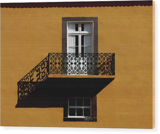 Balcon Wood Print