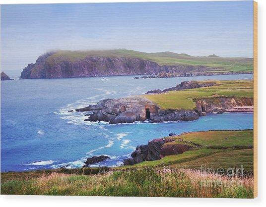 Ballyferriter Co. Kerry Ireland Wood Print by Jo Collins