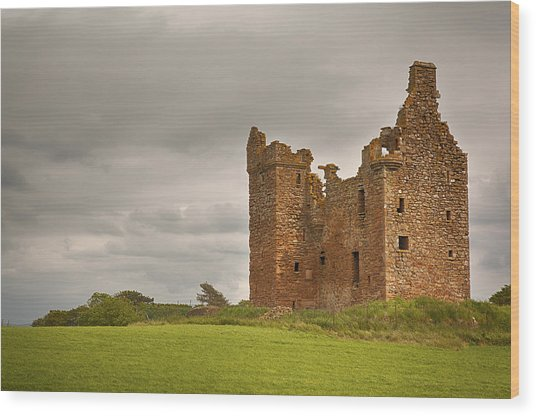 Baltersan Tower Wood Print