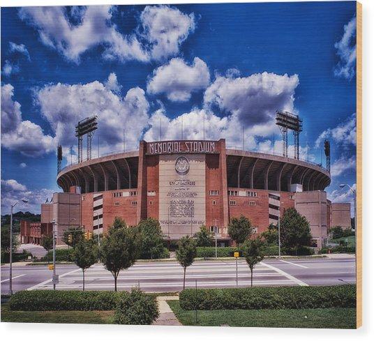 Baltimore Memorial Stadium 1960s Wood Print