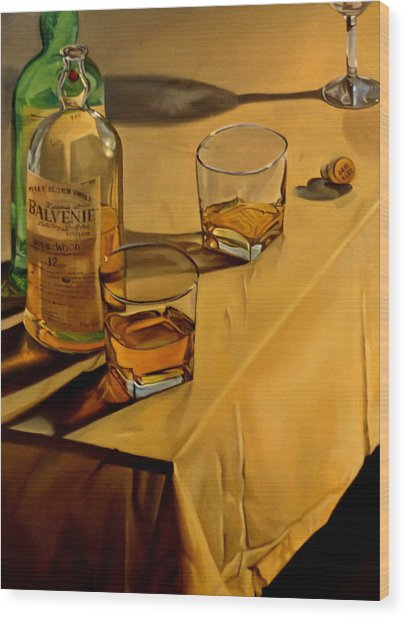 Balvenie Scotch Wood Print