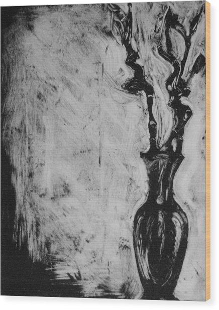 Bamboo Wood Print by Cynthia Harvey